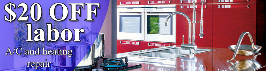 $35 off labor commercial appliance repair
